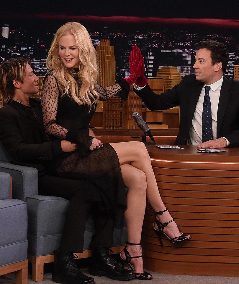 How Jimmy Fallon Blew His Chance to Date Nicole Kidman ... Twice!