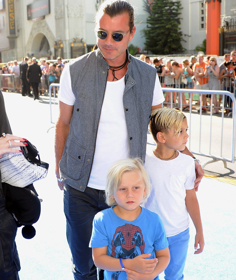 Gavin Rossdale Talks Co-Parenting With Gwen Stefani