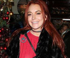 Lindsay Lohan Goes Back to Red -- Like the New Hue?
