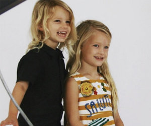Simpson Shares School Photos of Maxwell and Ace -- Too Cute!