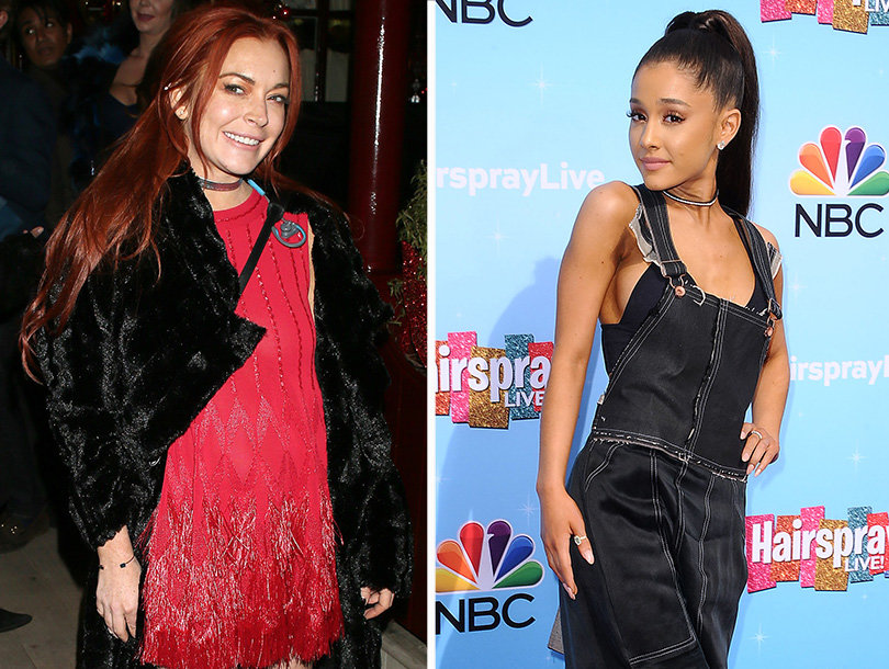 Lohan Shades Ariana Grande on Singer's Own Instagram Page