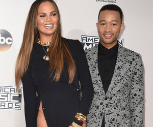 Chrissy Teigen Nearly Flashes Her Lady Bits at the AMAs!