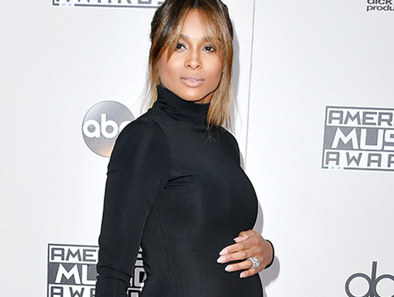 Pregnant Ciara In a Car Accident