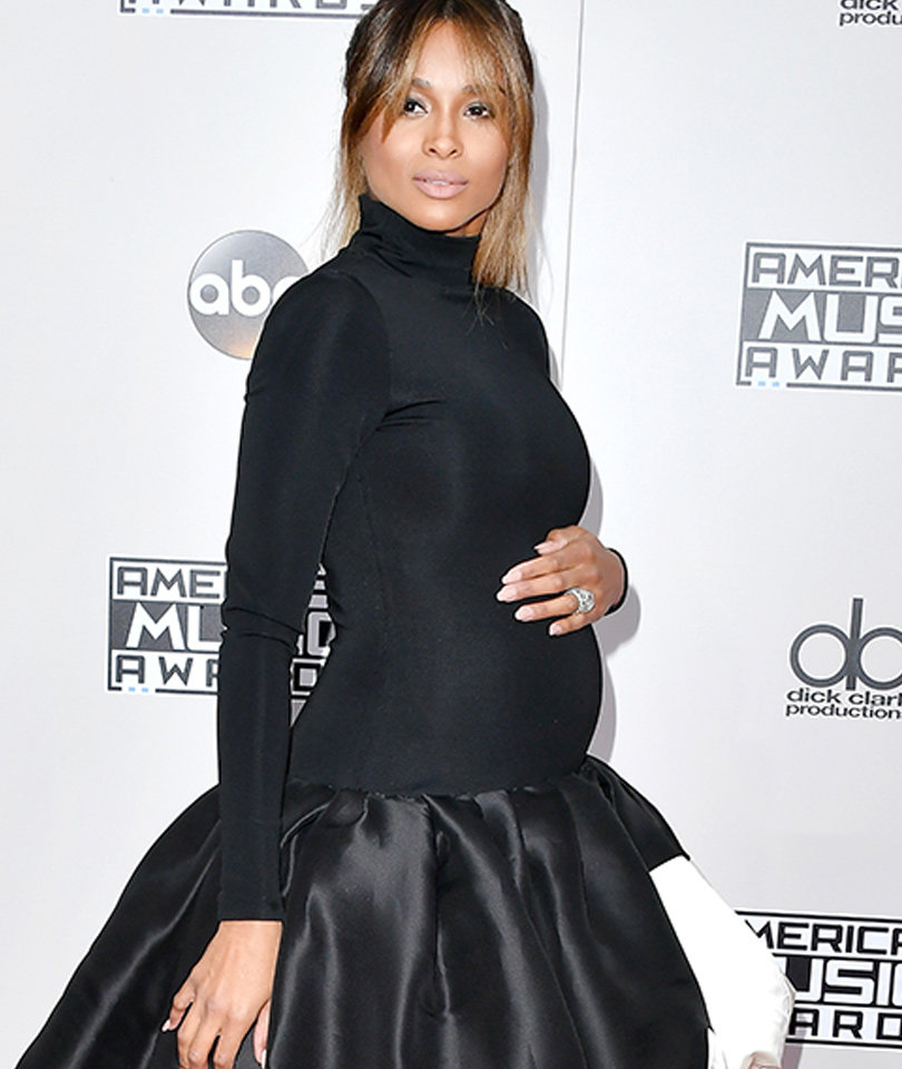 Ciara Flaunts Her Baby Bump at the American Music Awards