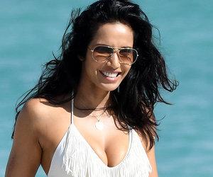 Padma Lakshmi Flaunts White Hot Bikini Bod In Miami