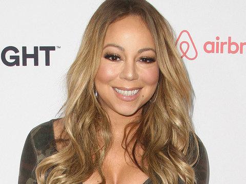 Mariah Has Major Fashion Misstep In Camo & Black Tights