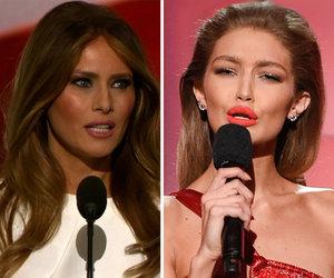 Gigi Apologizes for Mocking Melania Trump at AMAs