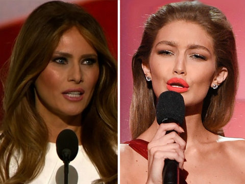 Gigi Apologizes for Mocking Melania Trump at AMAs