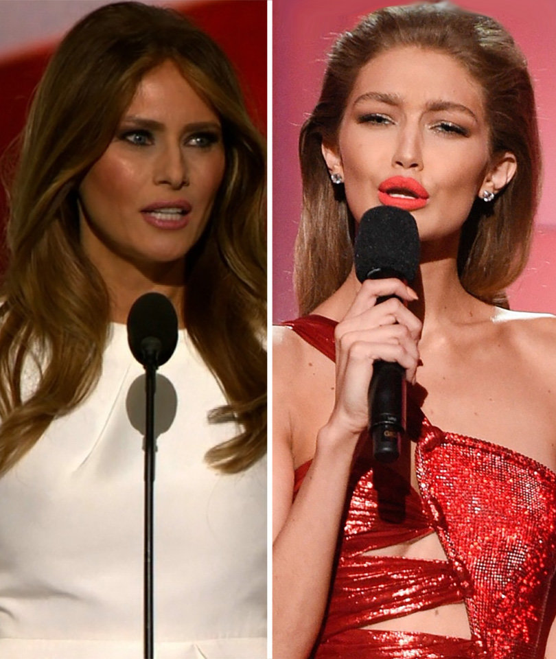 Gigi Hadid Apologizes for Mocking Melania Trump at AMAs