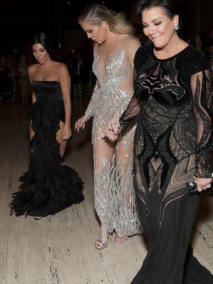 Kardashians Attend Angel Ball After West's Hospitalization