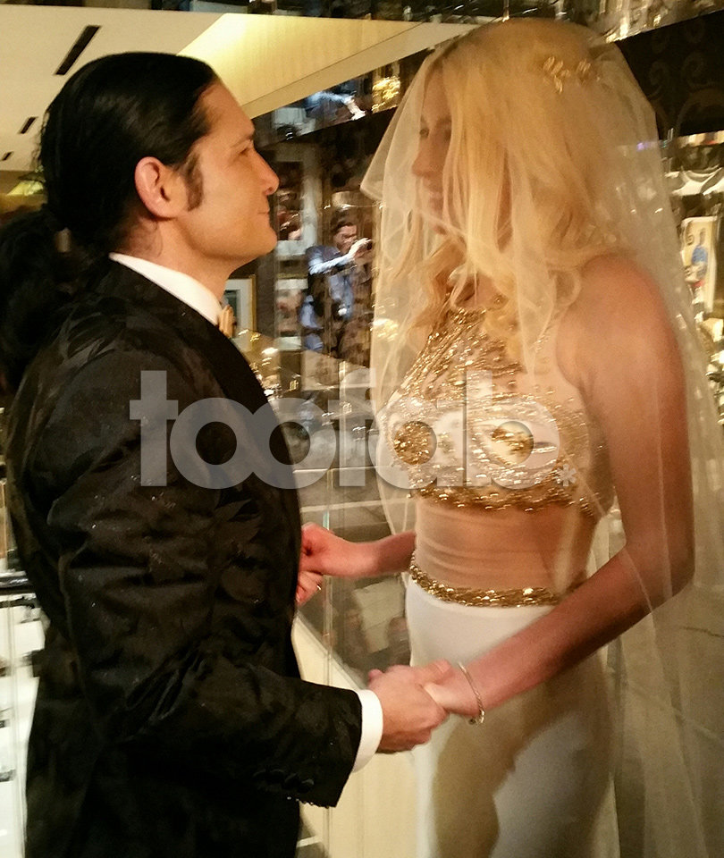 Corey Feldman Marries Courtney Anne In Las Vegas -- See the Wedding Photos!