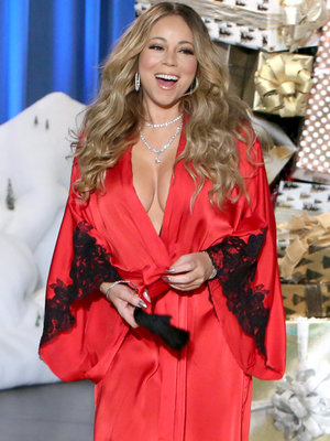 Mariah Gets Uncomfortable Talking James Packer with Ellen