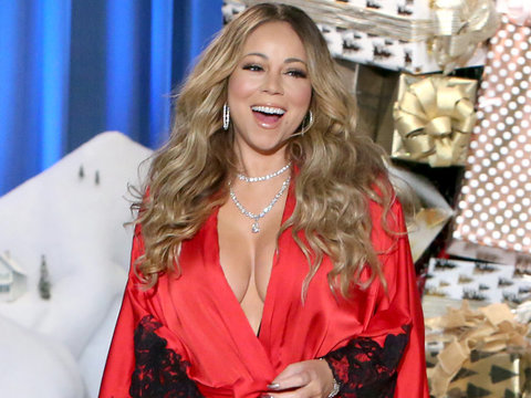 Mariah Gets Uncomfortable Talking James Packer with Ellen