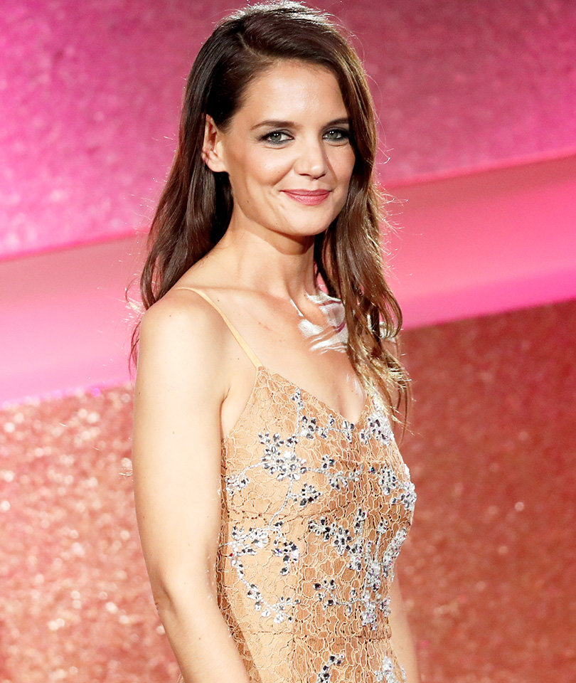 Katie Holmes and Suri Cruise Spend the Holidays In Ohio