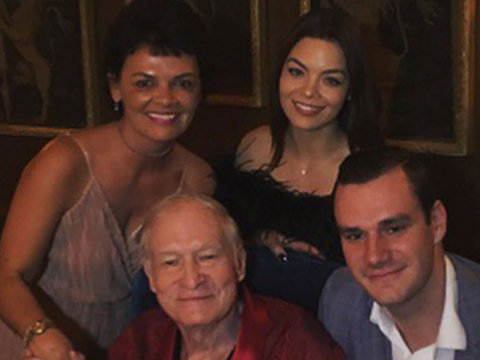 Hugh Hefner Resurfaces on Twitter After Serious Illness Rumors!
