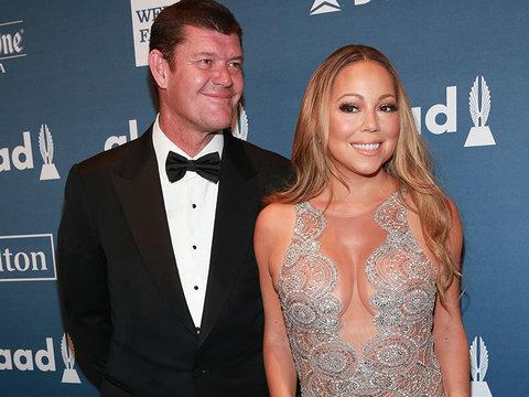Mariah Carey Recalls Trying on James Packer Wedding Dress