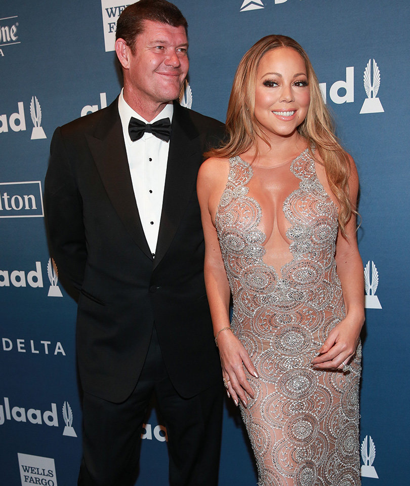 "Mariah Carey Recalls Trying James Packer Wedding Dress On, Calls Moment ""Bittersweet!"""