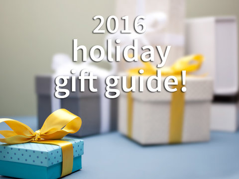 2016 TooFab Holiday Gift Guide -- Win a New Prize Every Day!