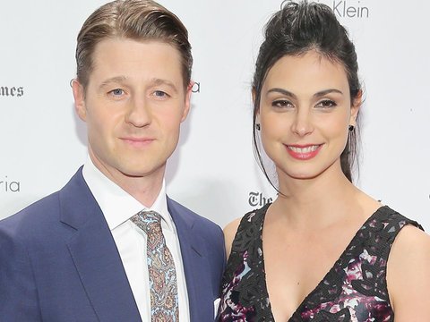 Ben McKenzie & Morena Baccarin Engaged -- See the Rock!