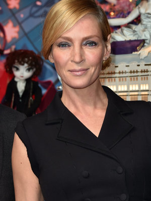 Uma Thurman Is Unrecognizable with Dark New 'Do