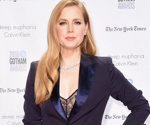 Amy Adams Gives Menswear a Sexy Update In NYC