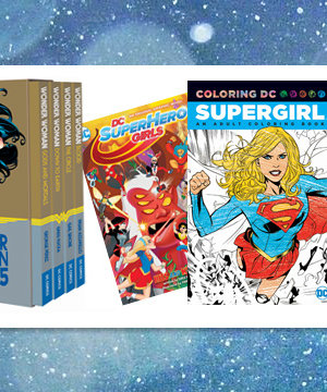 Today's Giveaway: Win a DC Female Superhero Gift Set!