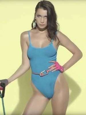 Bella Hadid's Love Mag Advent Video Is Too Hot to Handle!