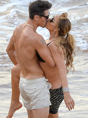 Mariah Kisses 33-Year-Old Dancer In PDA-Filled Beach Pics