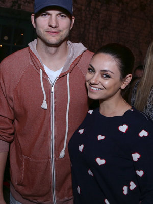 Ashton Kutcher & Mila Kunis Welcome Baby #2!