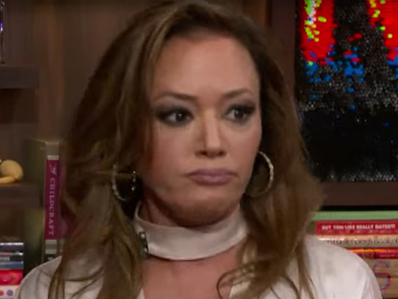 Leah Remini Shocks With Marc Anthony & J. Lo Kiss Details, Scolds 50 Cent…