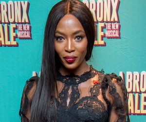 Naomi Campbell Leaves Little To The Imagination In See-Through Lace Dress