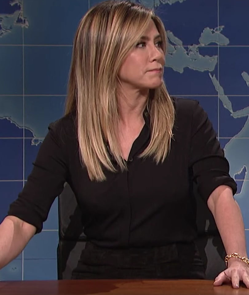 """See Why Jen Aniston & Donald Trump Aren't Pleased with """"SNL"""""""