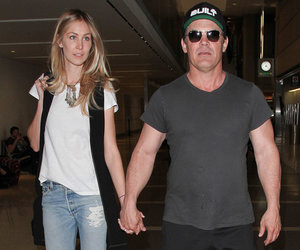 Josh Brolin Posts Nearly Nude Pic of Wife -- Think She's O.K. with THIS?