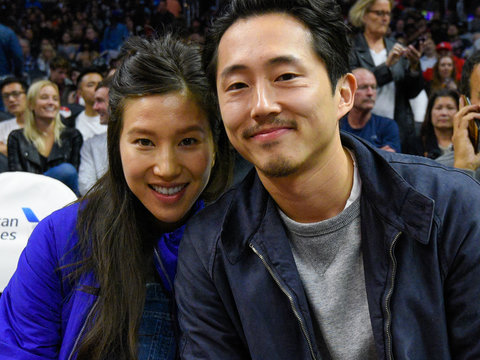"""The Walking Dead"" Star Steven Yeun Gets Married -- See His Beautiful Bride!"