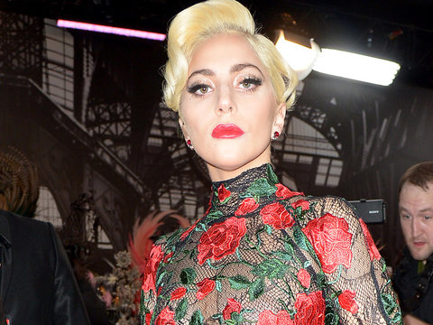 See First Look of Lady Gaga at Super Bowl Halftime Show Rehearsals (Photo)