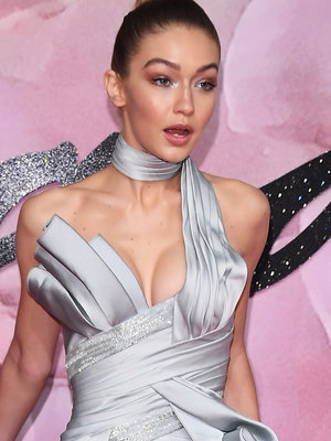 See Gigi Hadid's Daring Fashion Awards Ensemble