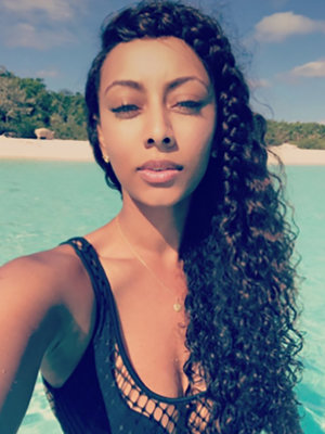 Keri Hilson's Bikini Birthday Snaps Are FIRE