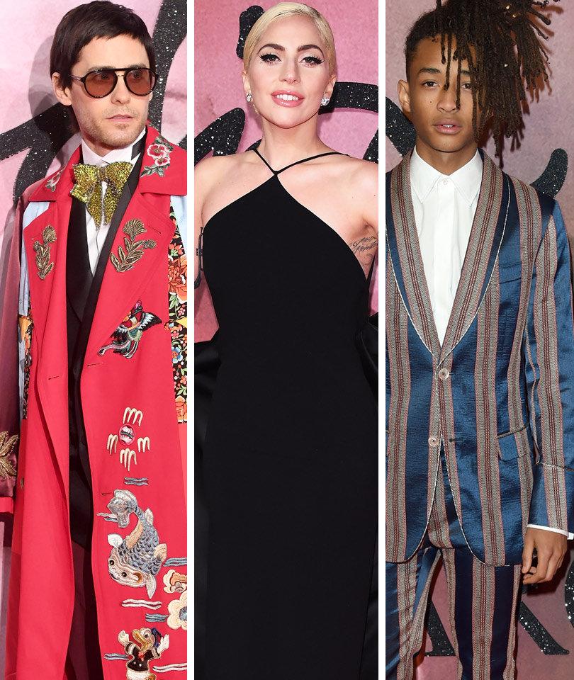 Leto, Gaga, Smith & More Stars Make a Statement at British Fashion Awards