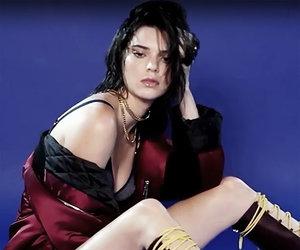 Kendall Jenner Gets Wet & Wild In Lingerie for Love Magazine