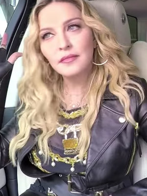 "Madonna Twerks, Gets Grilled About Michael Jackson In ""Carpool Karaoke"" Sneak Peek"