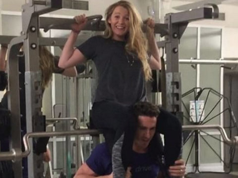 Blake Lively Gets Serious About New Year's Resolution