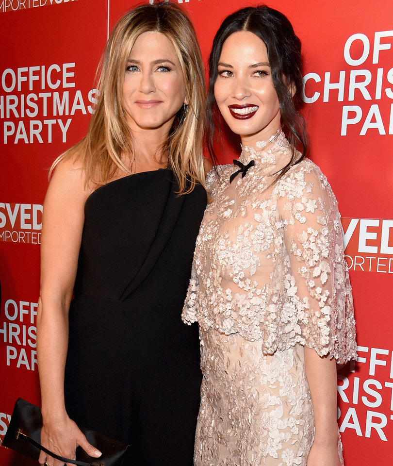 """Every Must-See Photo from the """"Office Christmas Party"""" Premiere"""