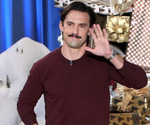 "Milo Ventimiglia Recreates ""This Is Us"" Push-Up Scene With Ellen (Video)"