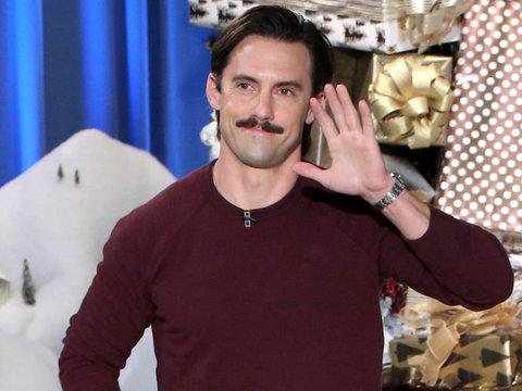 """Milo Ventimiglia Recreates """"This Is Us"""" Push-Up Scene With Ellen (Video)"""