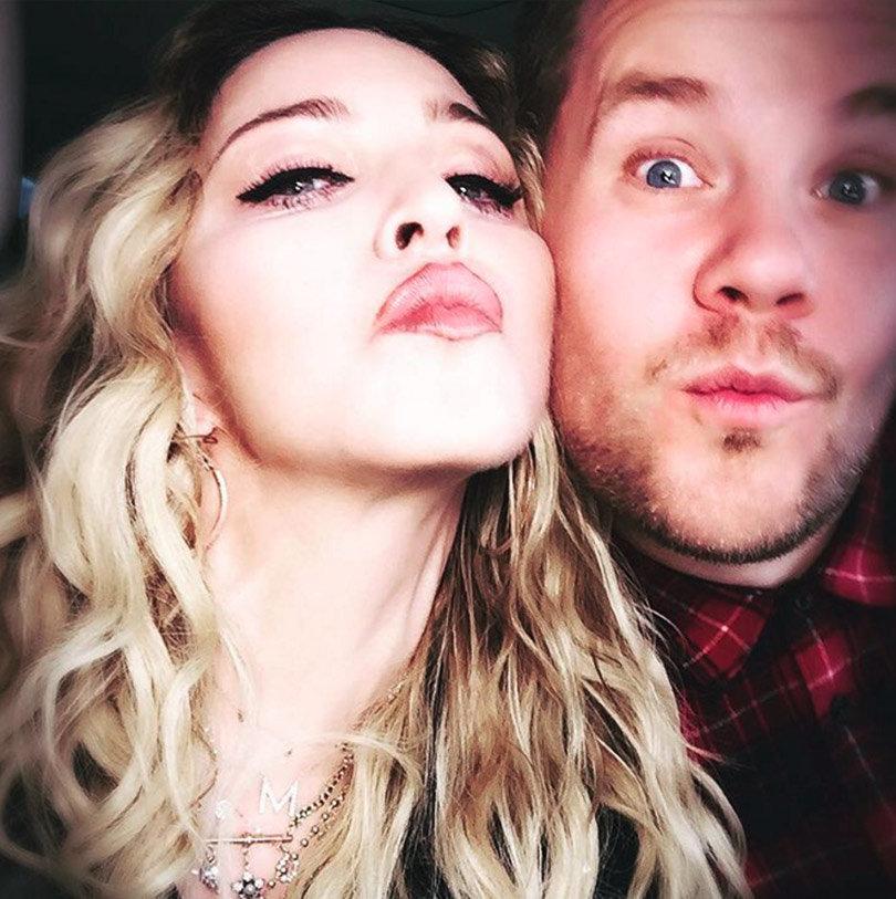 Madonna Admits She Kissed Michael Jackson During Carpool Karaoke with James Corden (Full Video)