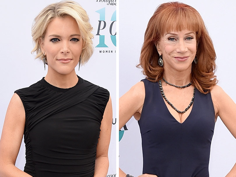 Kathy Griffin Boos Megyn Kelly for Praising Donald Trump: 'F--k' Him' (Video)