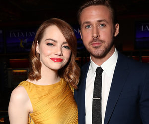 Emma Stone & Ryan Gosling Immortalized In Cement at Chinese Theatre