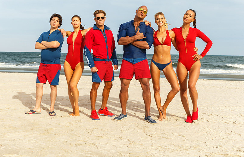 Zac Efron, The Rock and Sexy Slo-Mo Running Featured in First 'Baywatch' Trailer (Video)