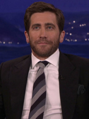 Why Conan O'Brien Thinks Jake Gyllenhaal Should Never Get Plastic Surgery (Video)