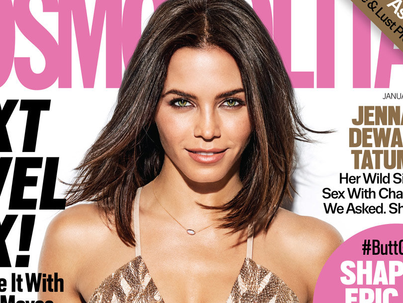 "Jenna Dewan Tatum & Channing Tatum Have a ""Primal"" Sexual Connection"